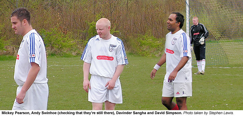A dream team on show, Mickey Pearson, Andy Swinhoe, Davinder Sangha and Dave Simpson.