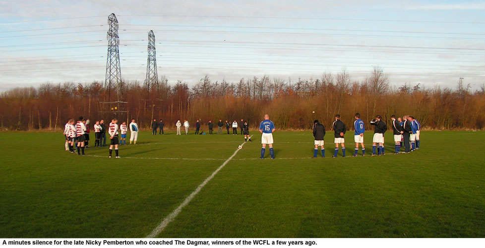 A minutes silence for Nicky Pemberton