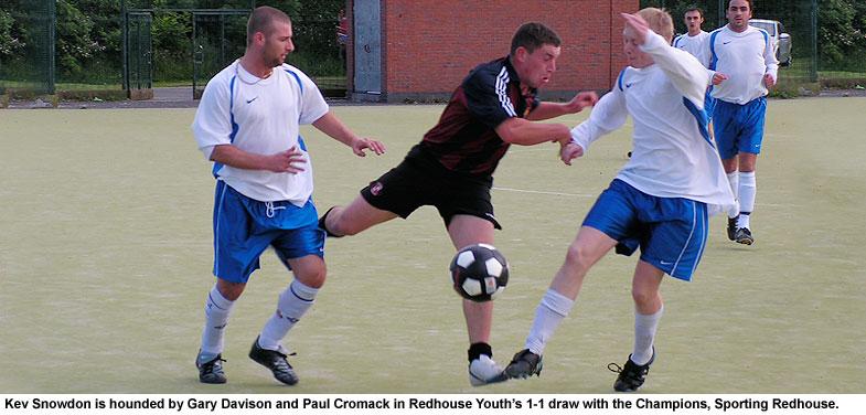 Gary Davison, Kev Snowdon and Paul Cromack