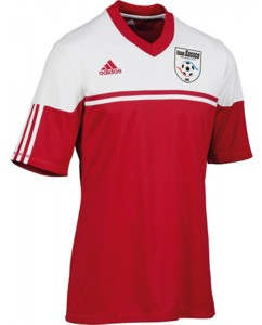 Adidas Autheno jersey for France.