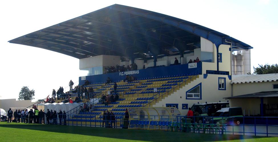 Estádio da Nora's main stand.