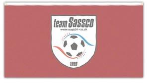 Sassco's flag for the Portugal Tour 2009.