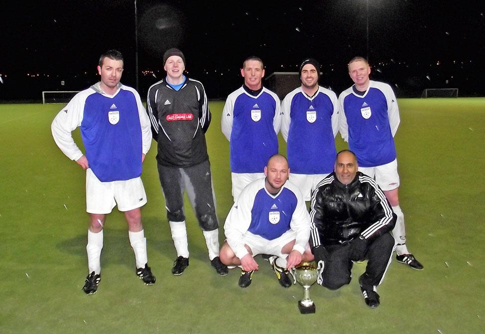 Paul McConville, David Simpson, Stephen Lewis, Steve Anderson, Chris Simpson, Grant Foster and Davinder Sangha.