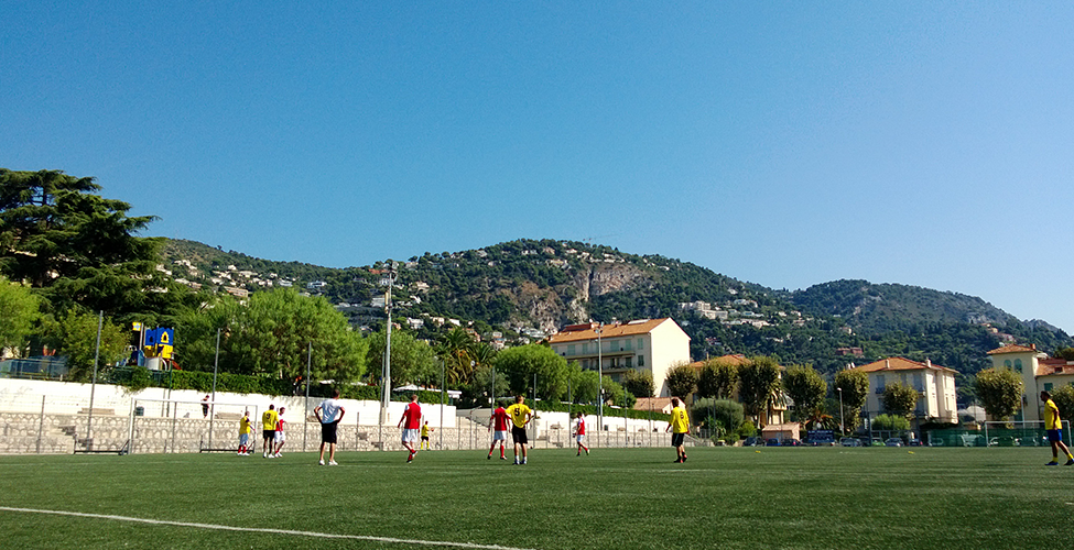 Stunning venue in Villefranche for Sassco v AngloSports.