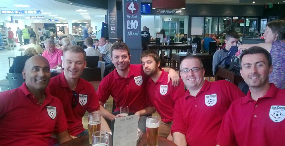 The team at Leeds-Bradford Airport.