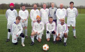 11-a-side team against Sunderland DFC. 28th February 2015
