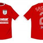 USA Tour soccer shirt.