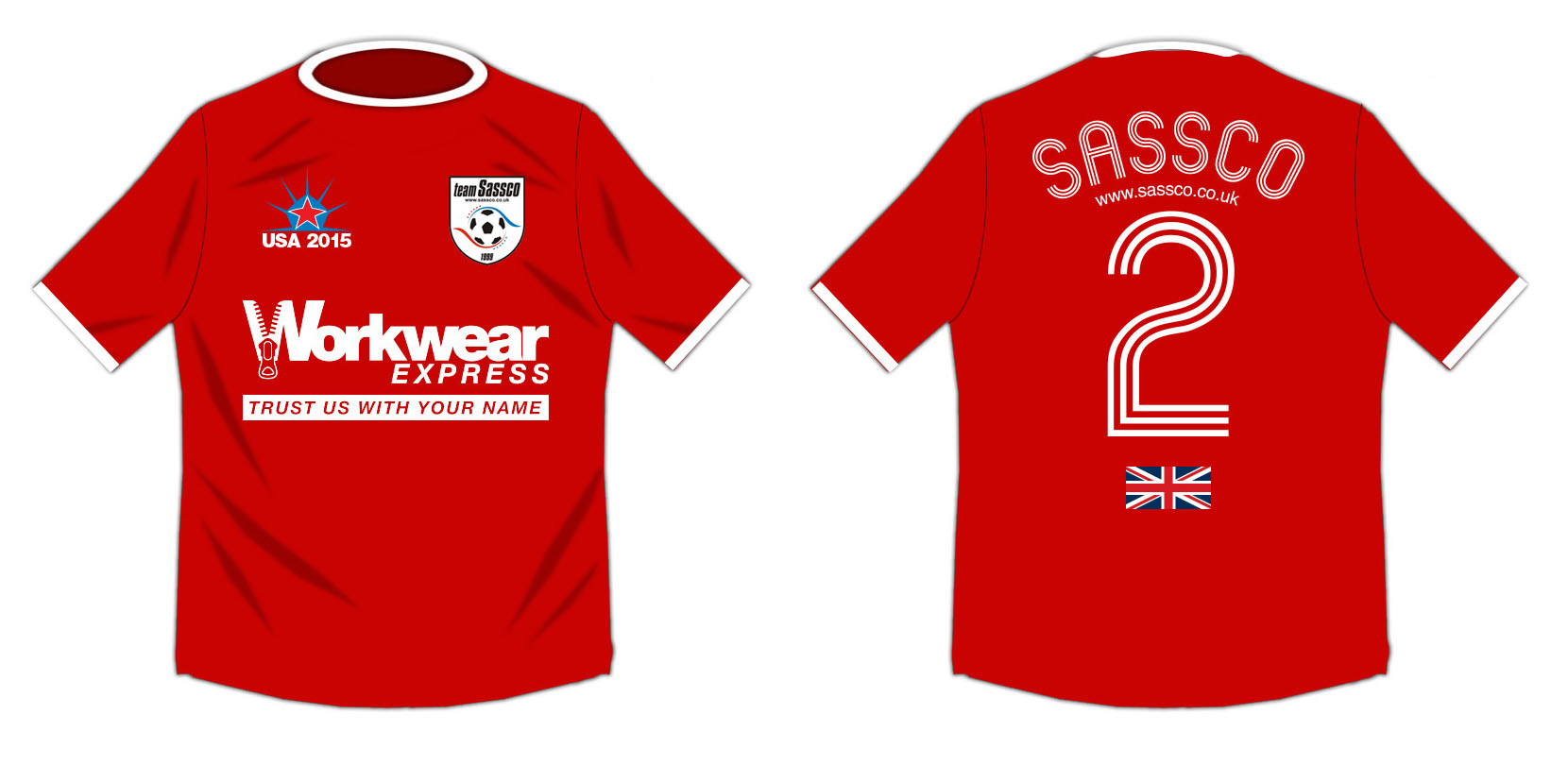 USA Tour soccer shirt for New York City