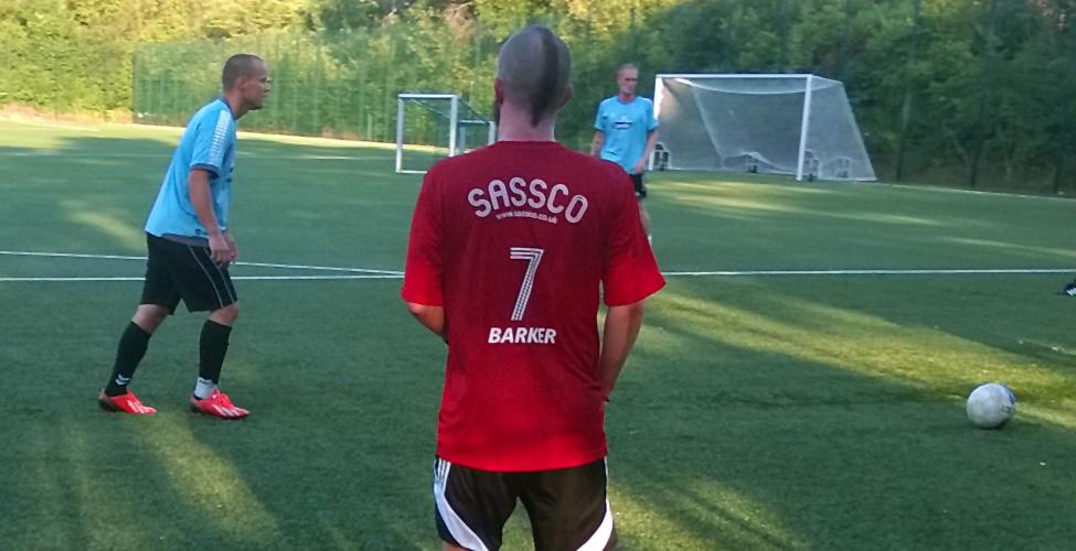 Baxter in action in Denmark.