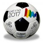 Official match ball for Iceland 2017 unveiled.