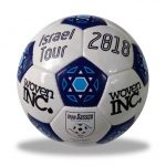 Soccerball for the Israel Tour.
