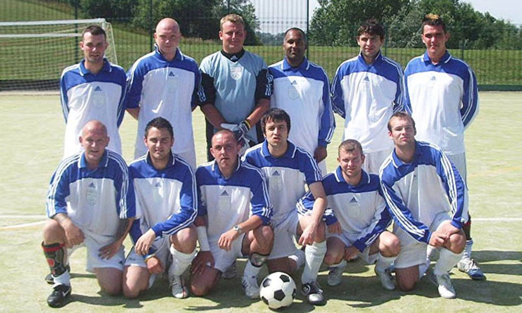 Neil Middlemiss, Mark Muers, Jon Wardle, Davinder Sangha, Steve Stubbs, Wayne Greenwell Jason Amour, Michael Pearson, John Oliver, David Gourlay, David Staples, Scott Hembrough