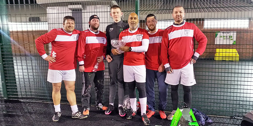 Sassco victorious in the December Tournament.